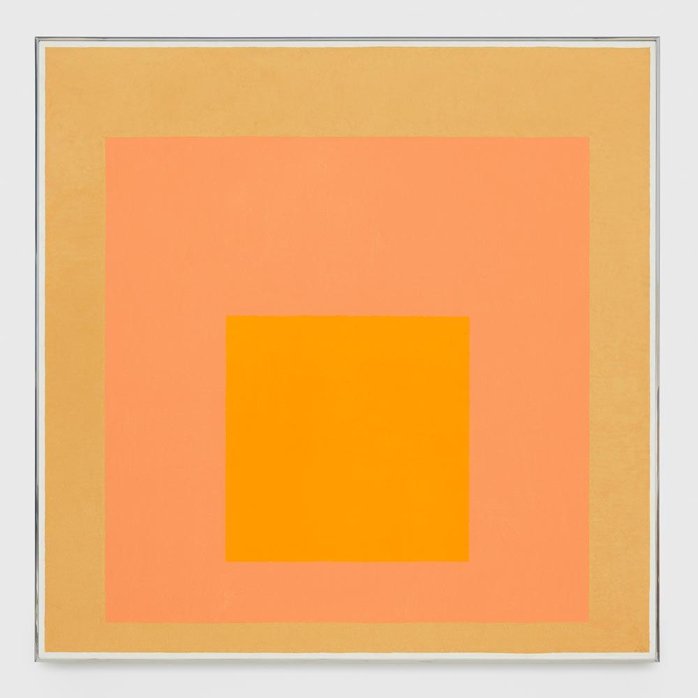 Josef Albers Sunny Exhibition At David Zwirner Gallery