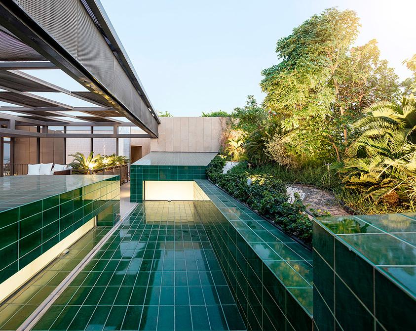 Three gardens house in kuwait by agi architects wallpaper for Garden design kuwait