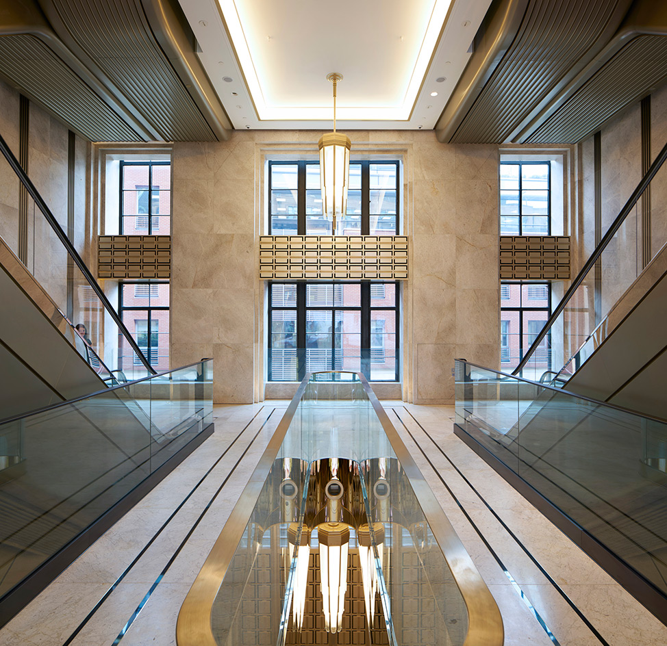 Grand Foyer Definition : Make architects refurbish harrods grand entrance wallpaper