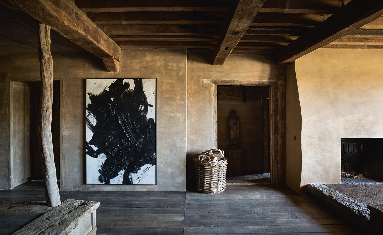 Inside Art Collector Axel Vervoordts Estate Wallpaper