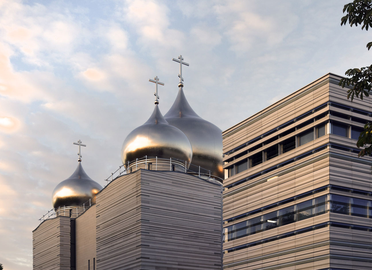 Wilmotte Associés Creates Paris New Russian Church