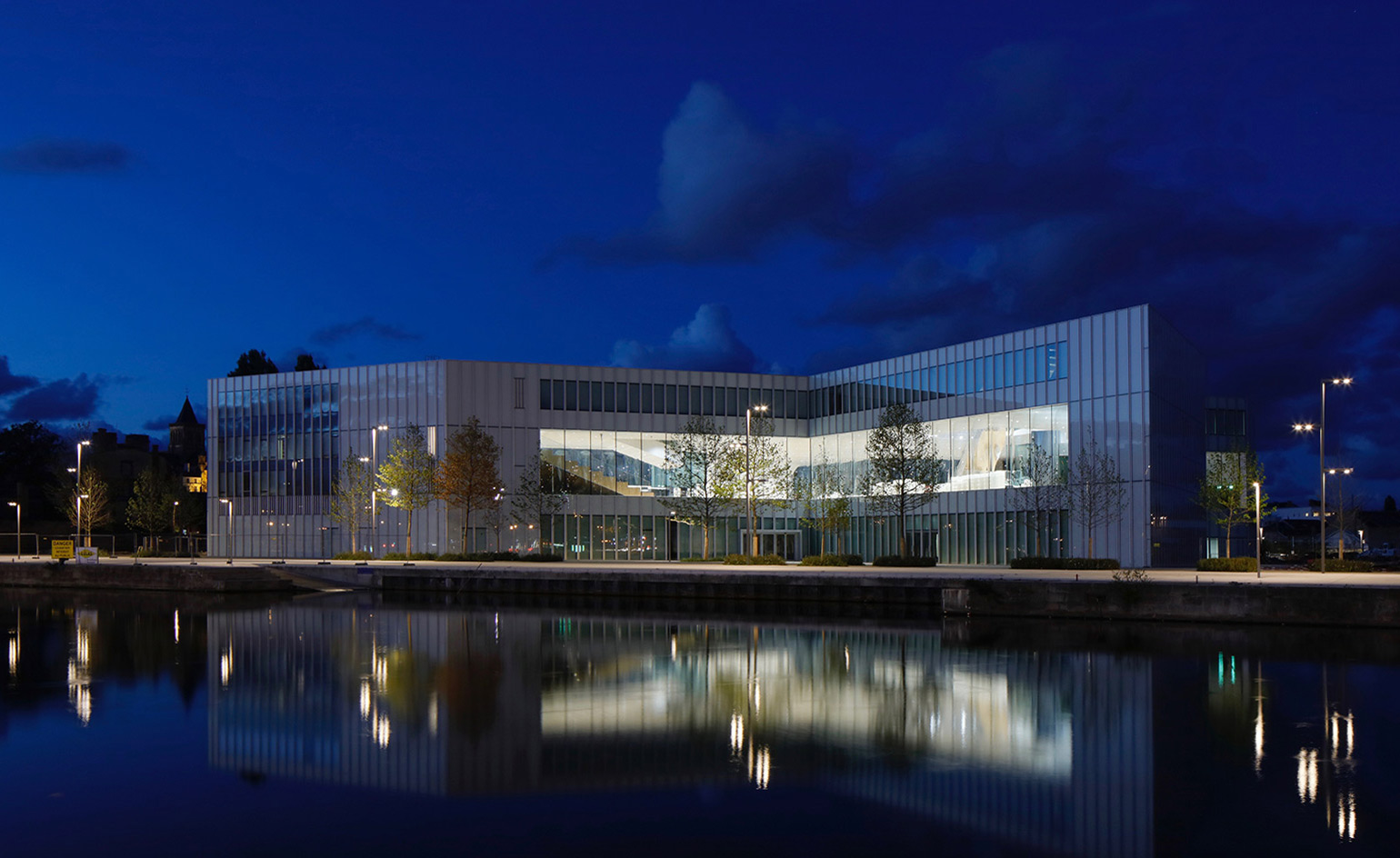 Cabinet D Architecte Caen loan ranger: oma's first 2017 project is a public library