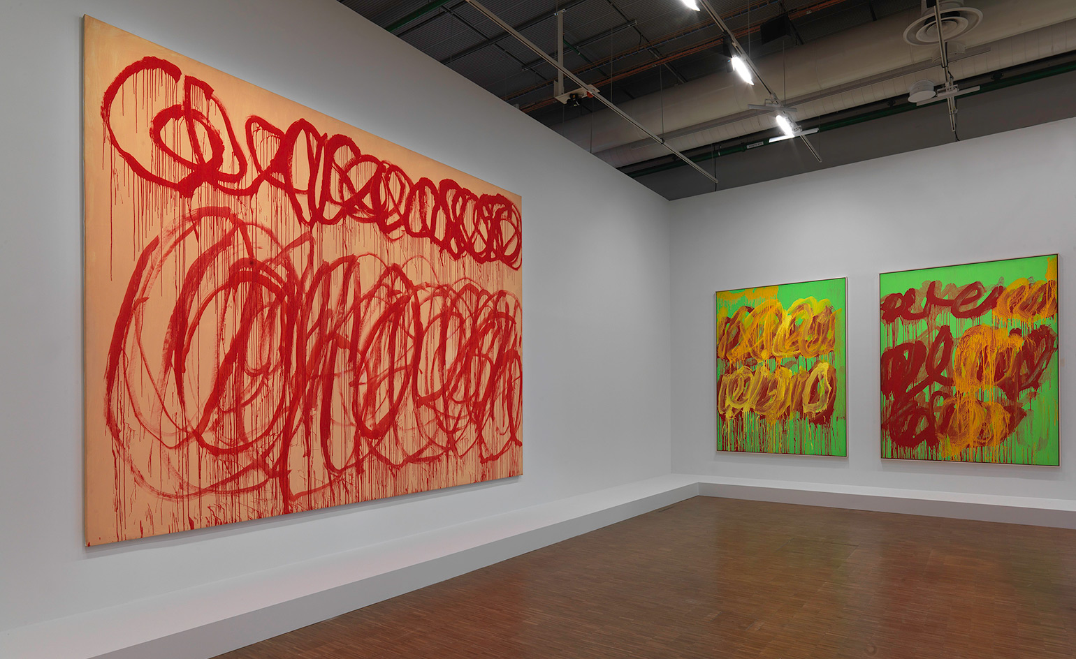 Cy twombly receives a definitive retrospective at the for Art minimal centre pompidou