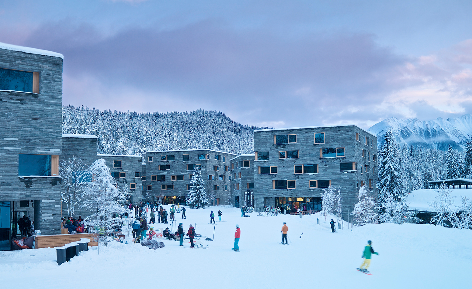 Exploring The Cubist Concepts Of Laax Switzerland
