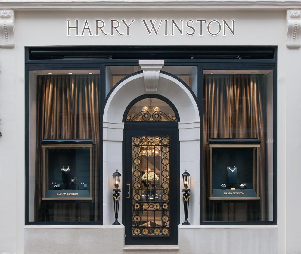 Harry Winston Reopens Its Bond Street Jewellery Boutique