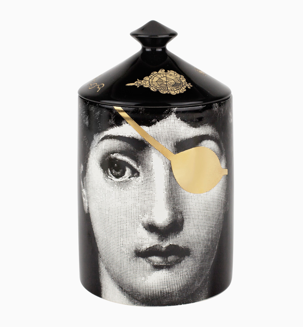 Fornasetti Profumi Lights Up The Misterio Candle Wallpaper