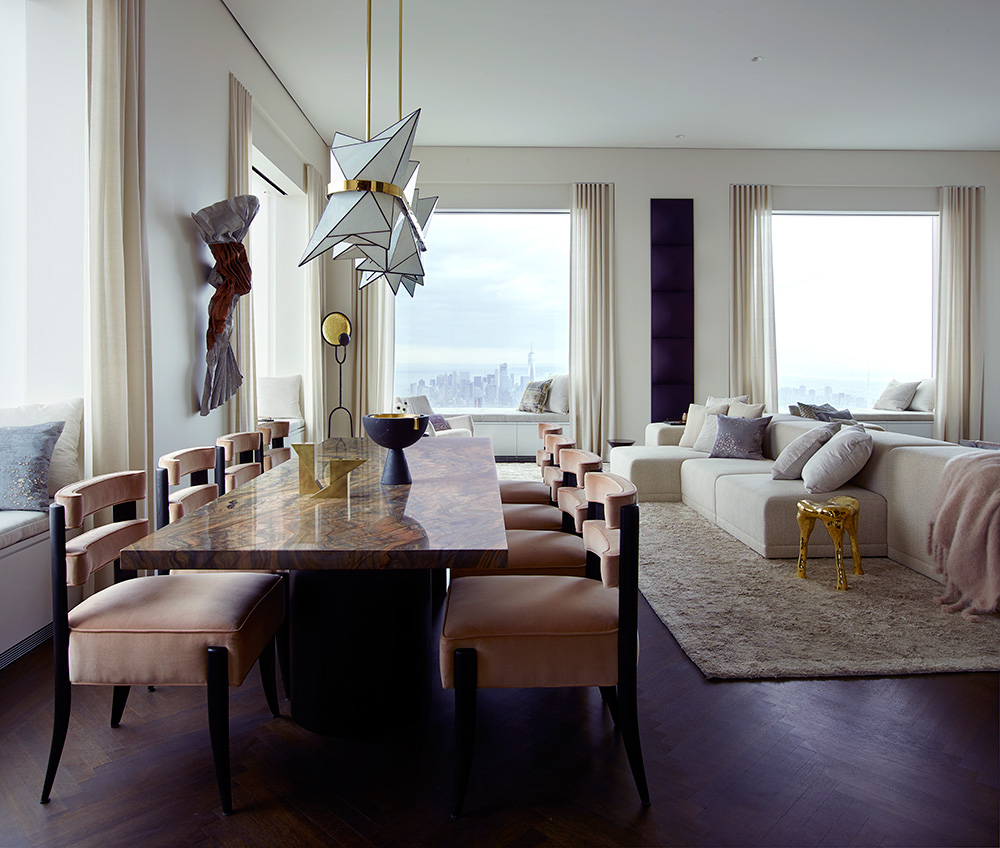New York Apartments Inside: Kelly Behun Designs Apartment Inside Rafael Viñoly's 432