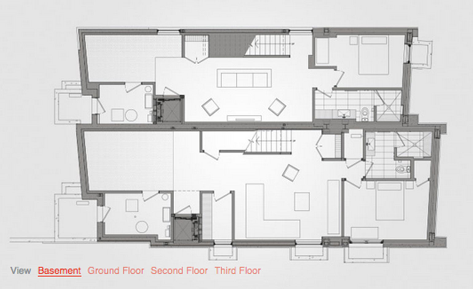 Architect luc bouliane 39 s relmar house in toronto wallpaper Interactive house plans