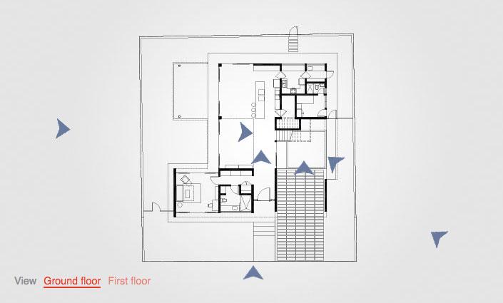 Tour of Micaela Benedicto's Z House   Wallpaper* Z House Floor Plans on floating dock plans, vardo camper plans, new house design plans, biltmore estate elevation plans,